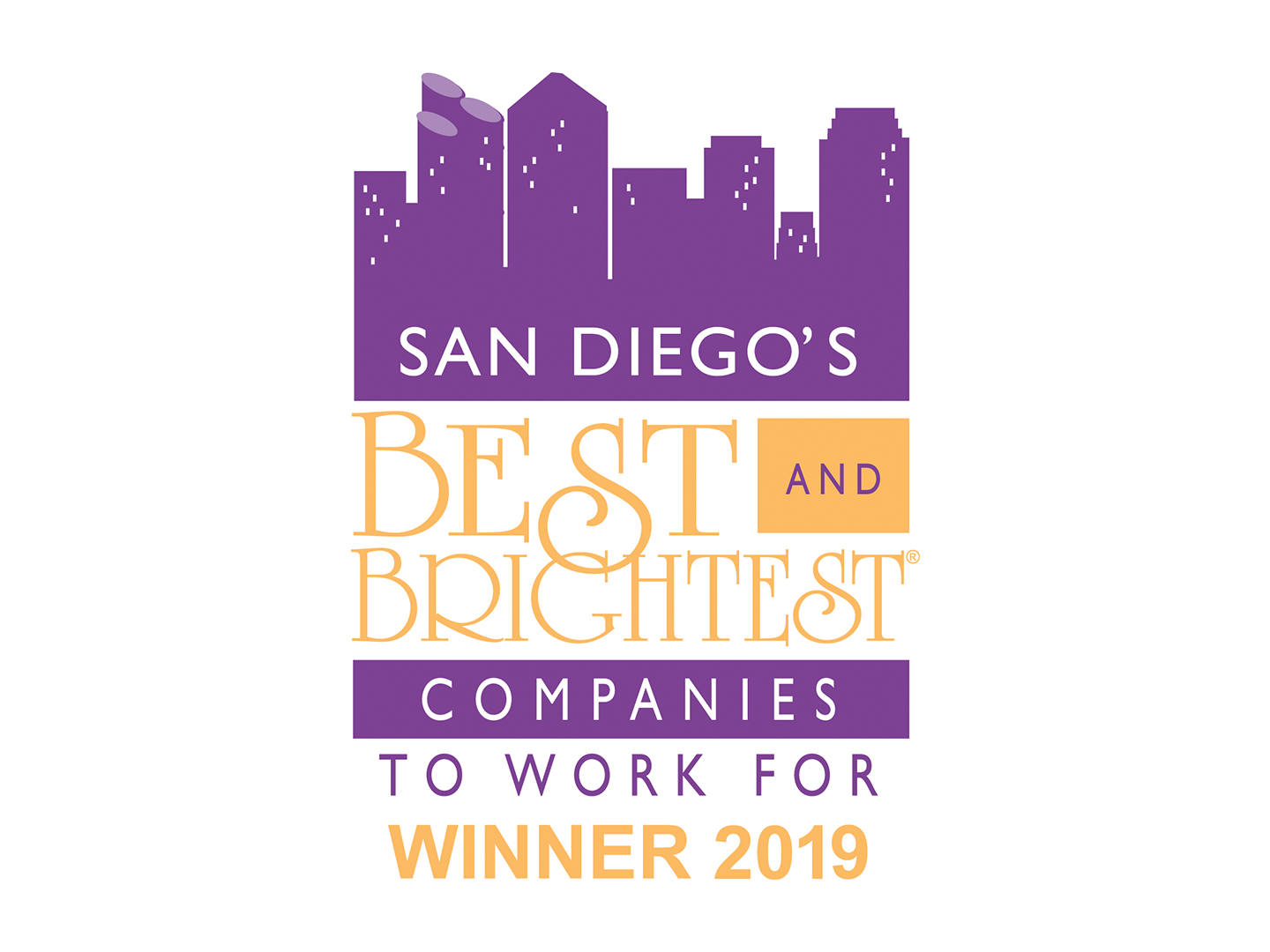 San Diego's Best & Brightest Companies to Work For 2019 Award