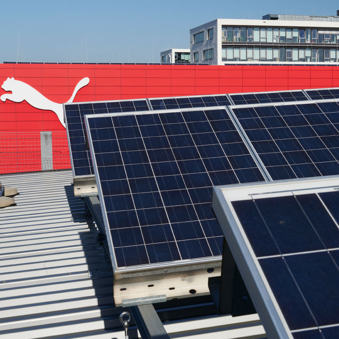 Solar Panels at the PUMA Headquarters