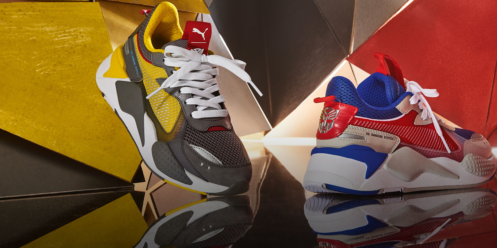 7fe8673df71658 PUMA® - PUMA and Hasbro reveal the RS-X Transformers Pack