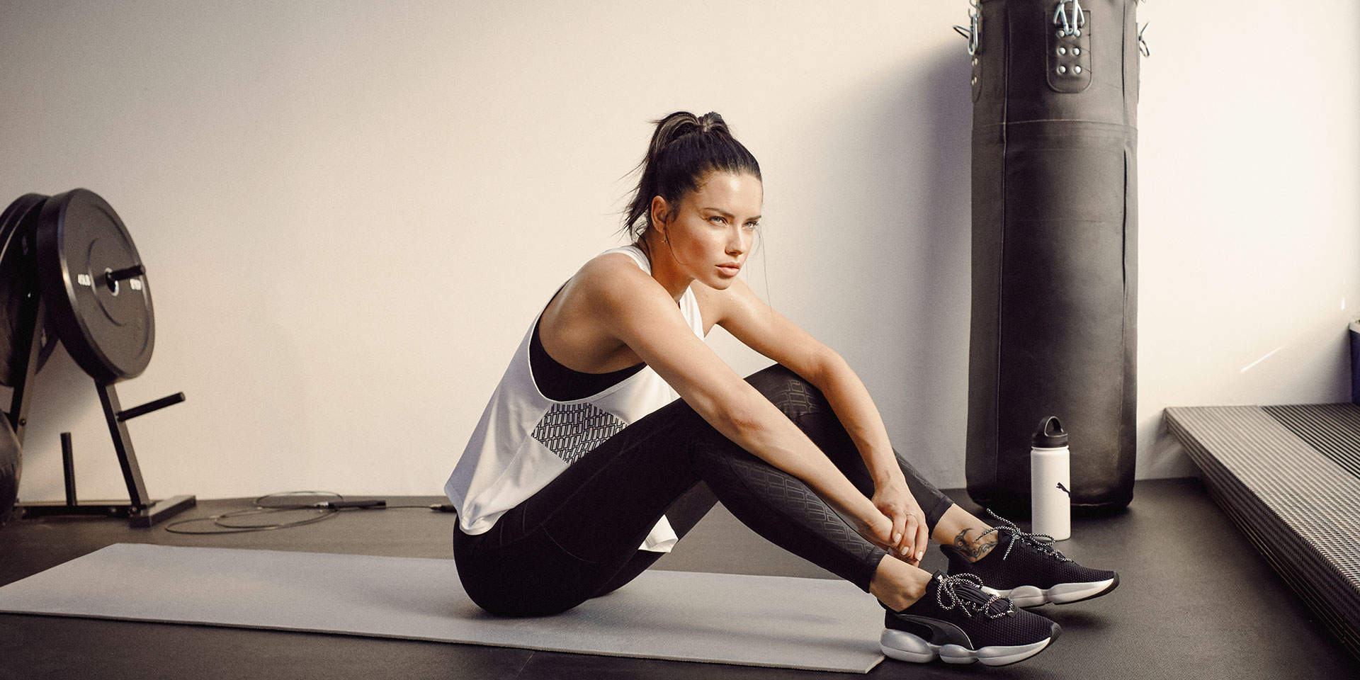 PUMA® - International Supermodel Adriana Lima sports Mode XT