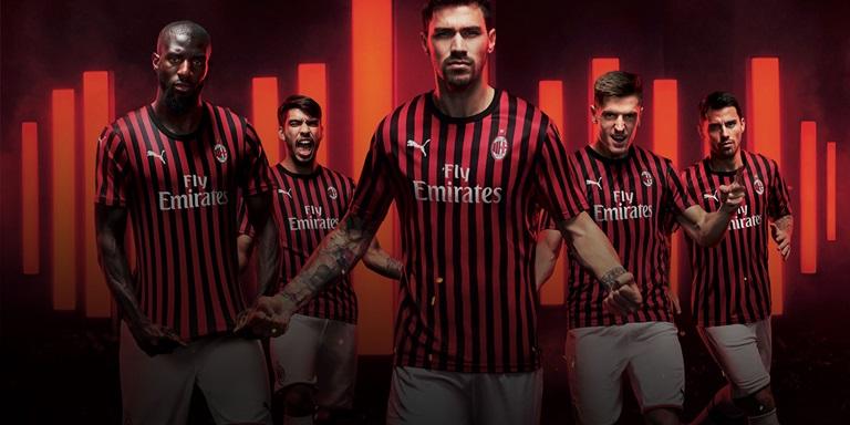 Puma Puma Celebrates The Legacy Of 1969 With New Ac Milan Home Kit