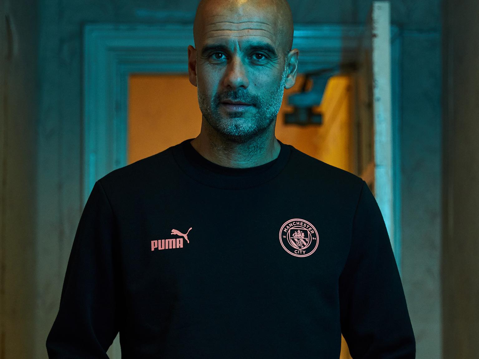 PUMA® - PUMA partners with Manchester City Manager Pep Guardiola