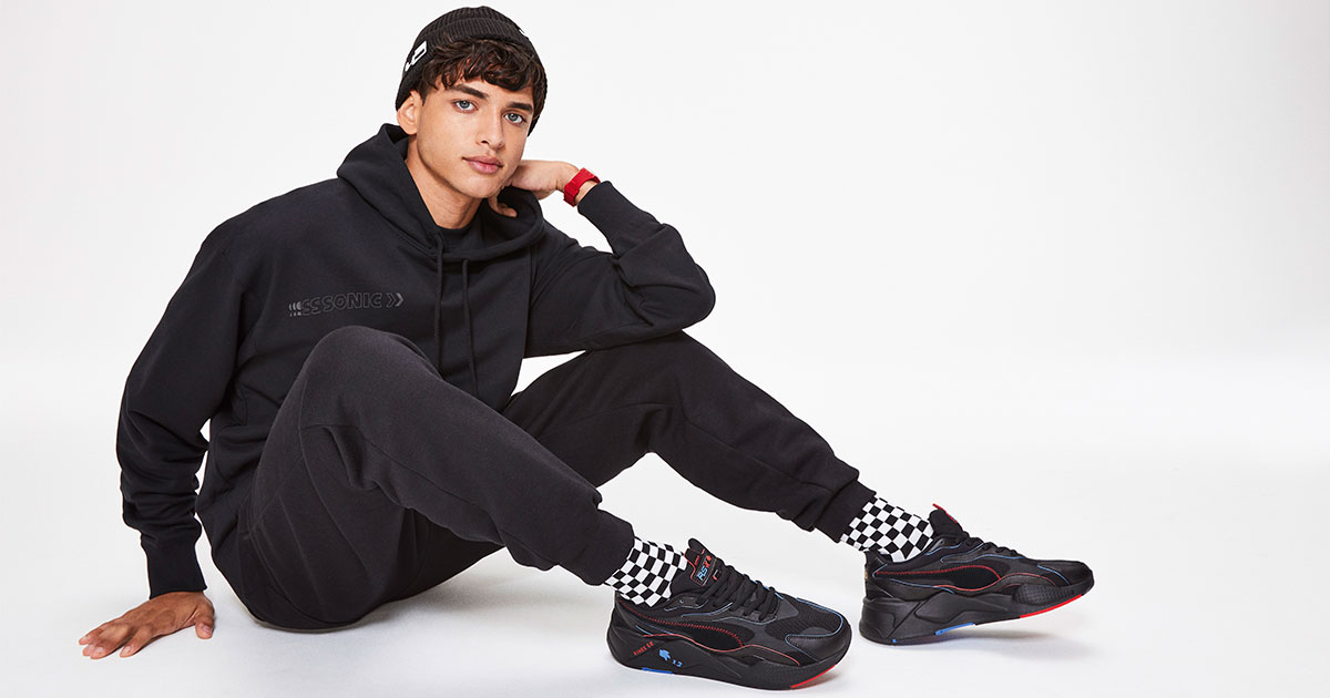 Puma Speedy And Playful Puma Creates Collection With Video Game Character Sonic The Hedgehog