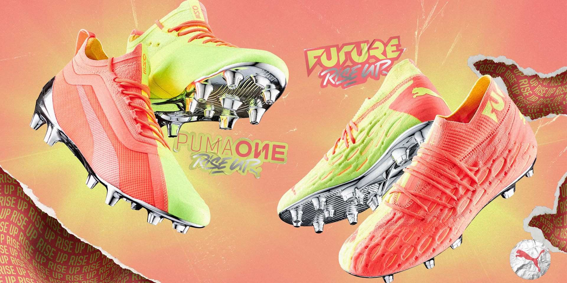 PUMA® - PUMA PREPARES TO LIGHT UP THE PITCH WITH THE RISE PACK