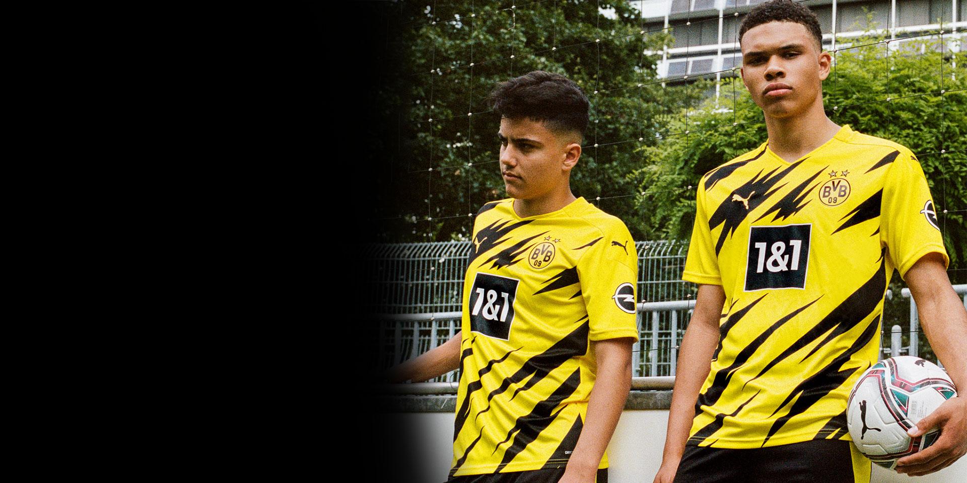 Puma Puma Presents The New Borussia Dortmund Home Kit Inspired By The U Bahnhof Westfalenhallen