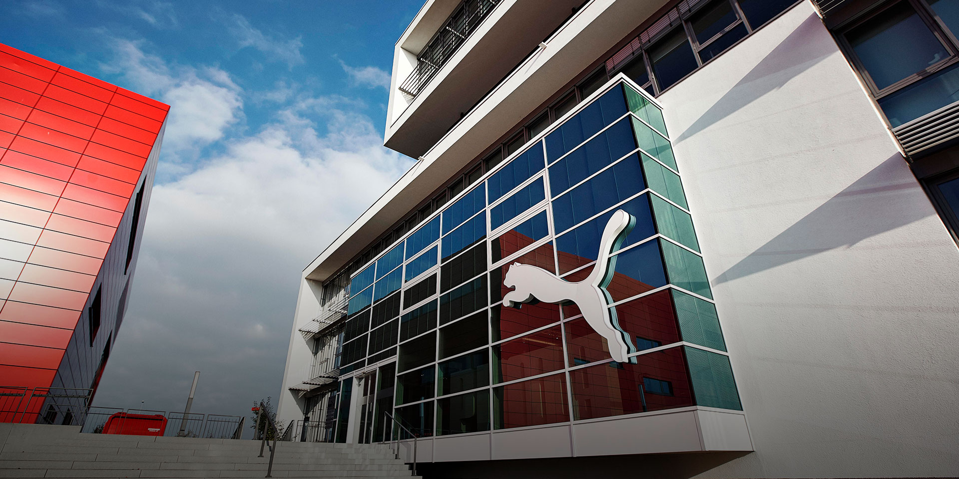 PUMA Entrance at the headquarters