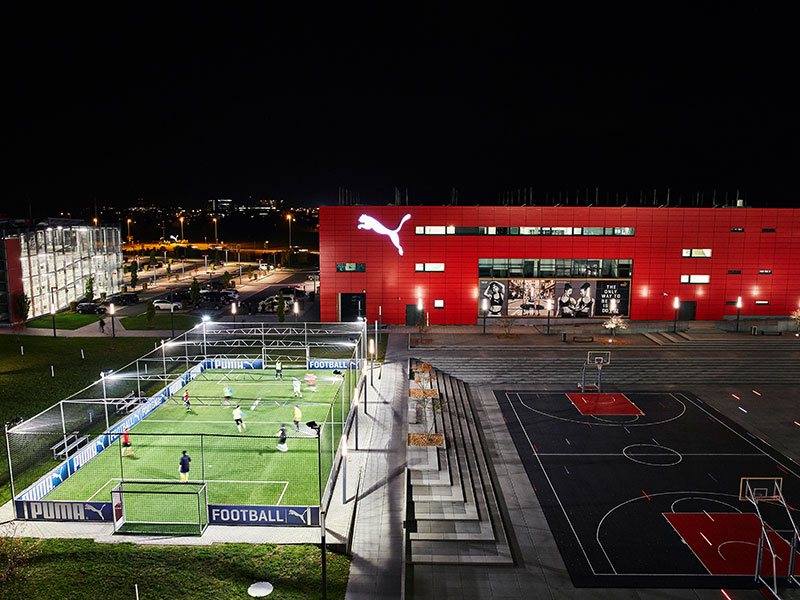 PUMA Store and Cageball field