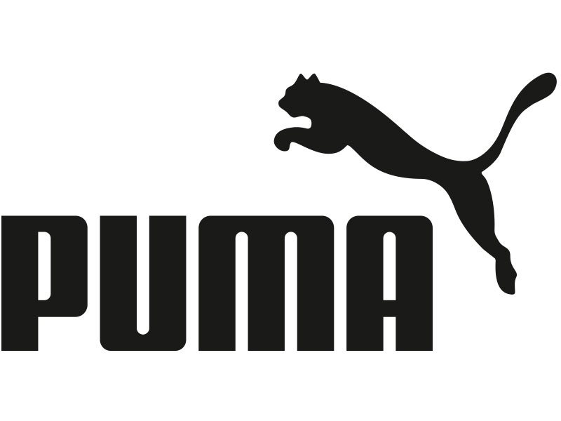 PUMA Logo Cat jumping over letters