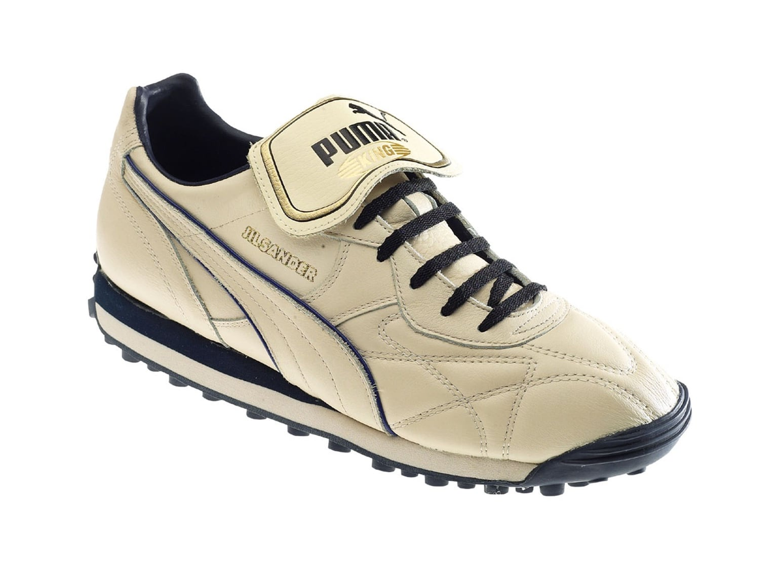 white PUMA King Jil Sander