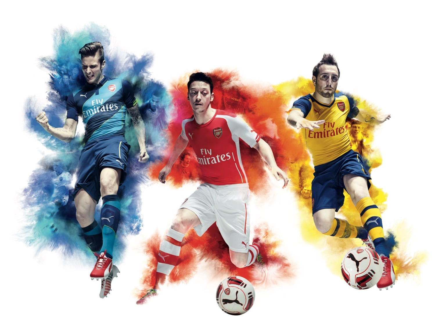 Kits PUMA Arsenal