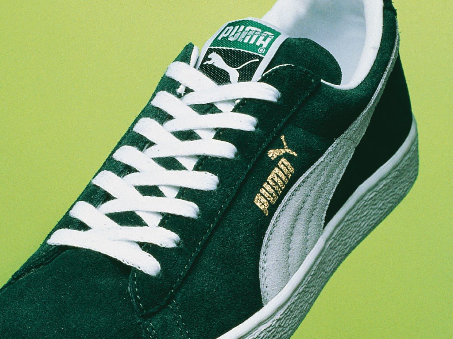 PUMA Chaussures en daim 1973